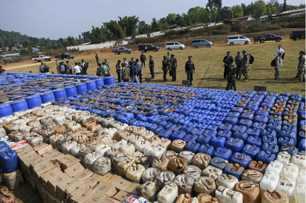 myanmar biggest seizure